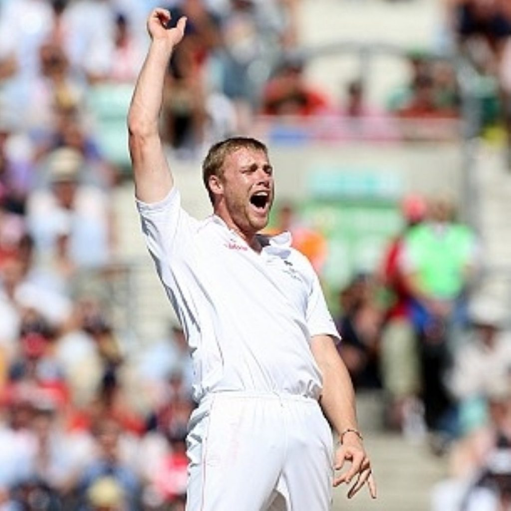 Andrew Flintoff's Test antics were missed on free TV this year