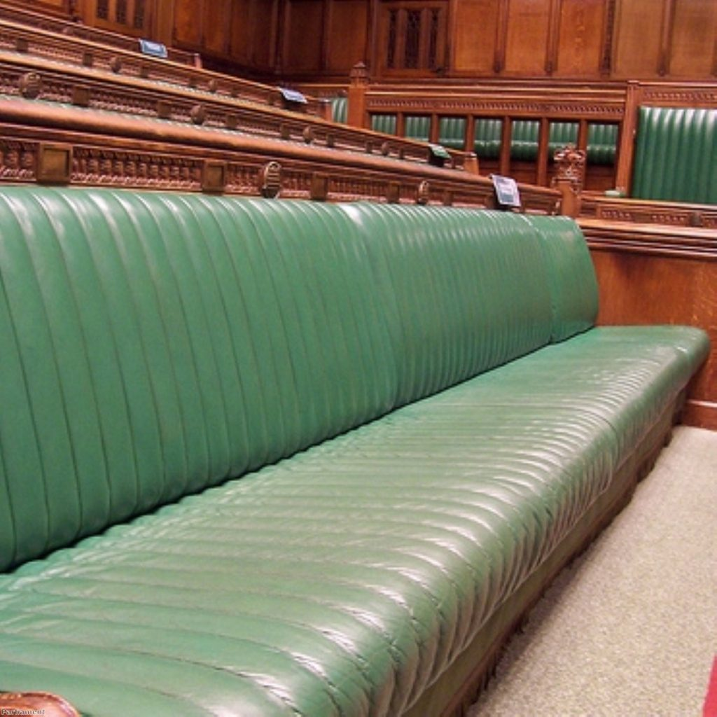 The Commons was nearly as deserted as this picture suggests. But not quite.