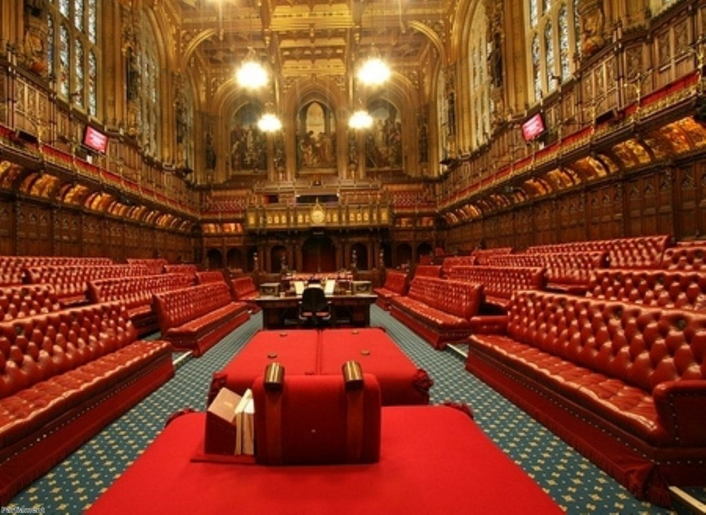 Lords reform threatens to split parties down the middle