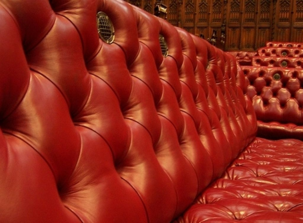 The Lords benches are usually privy to more civilised attacks