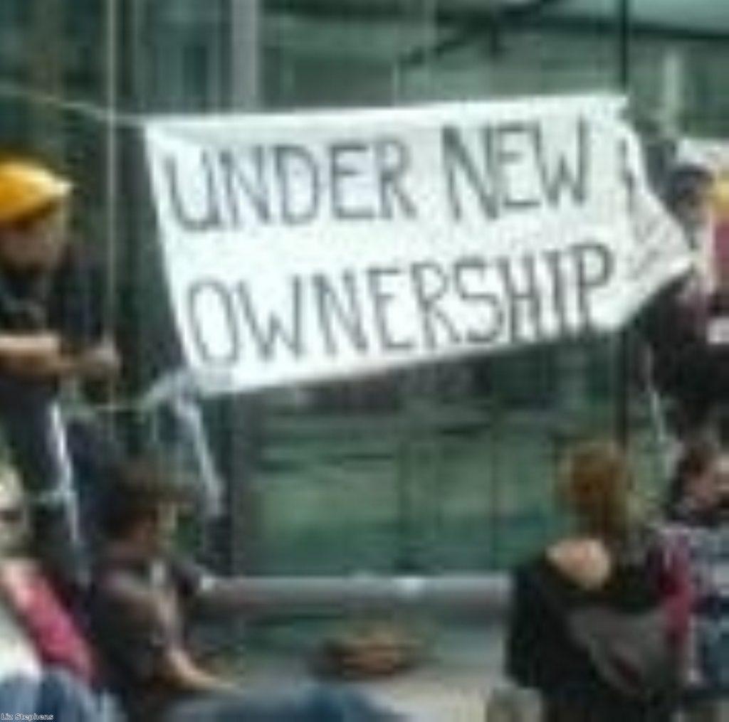 Climate Camp protestors