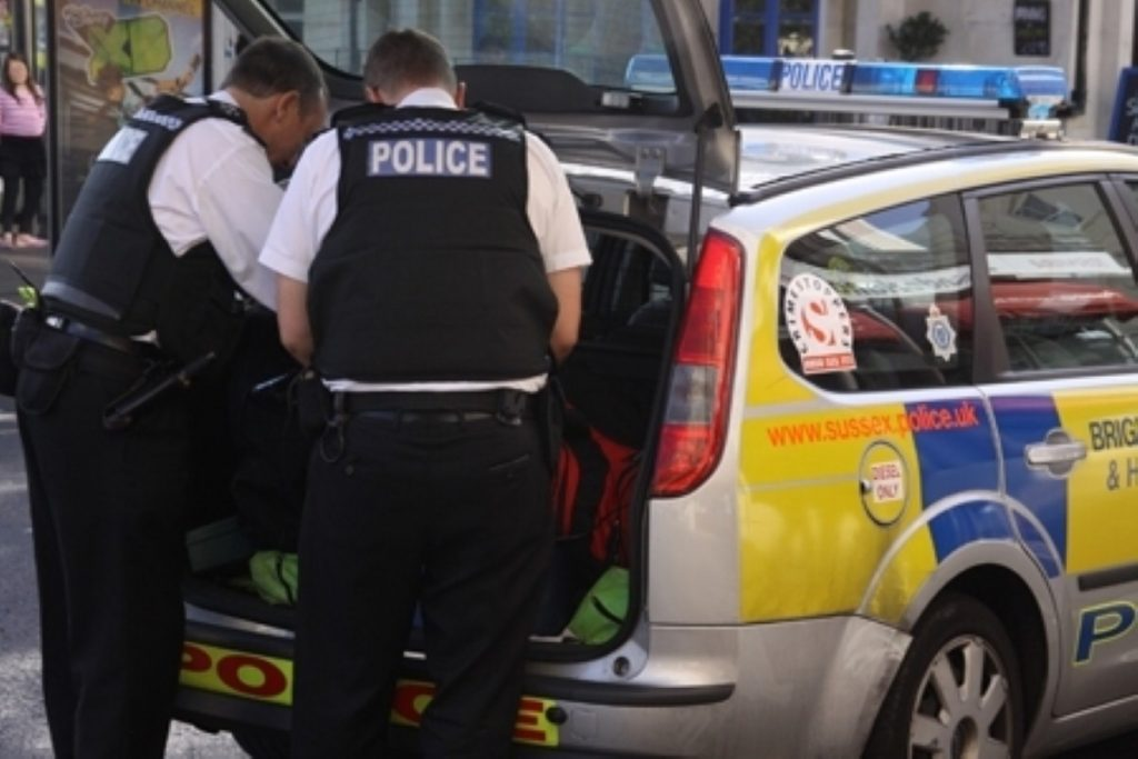 Police stop and search against ethnic minorities is up in some areas