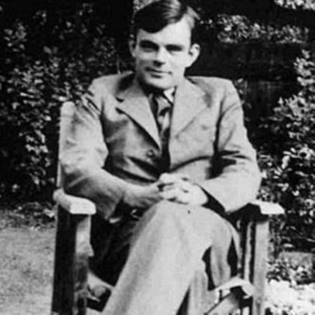 Gordon Brown issued an apology last night on behalf of the government to Alan Turing