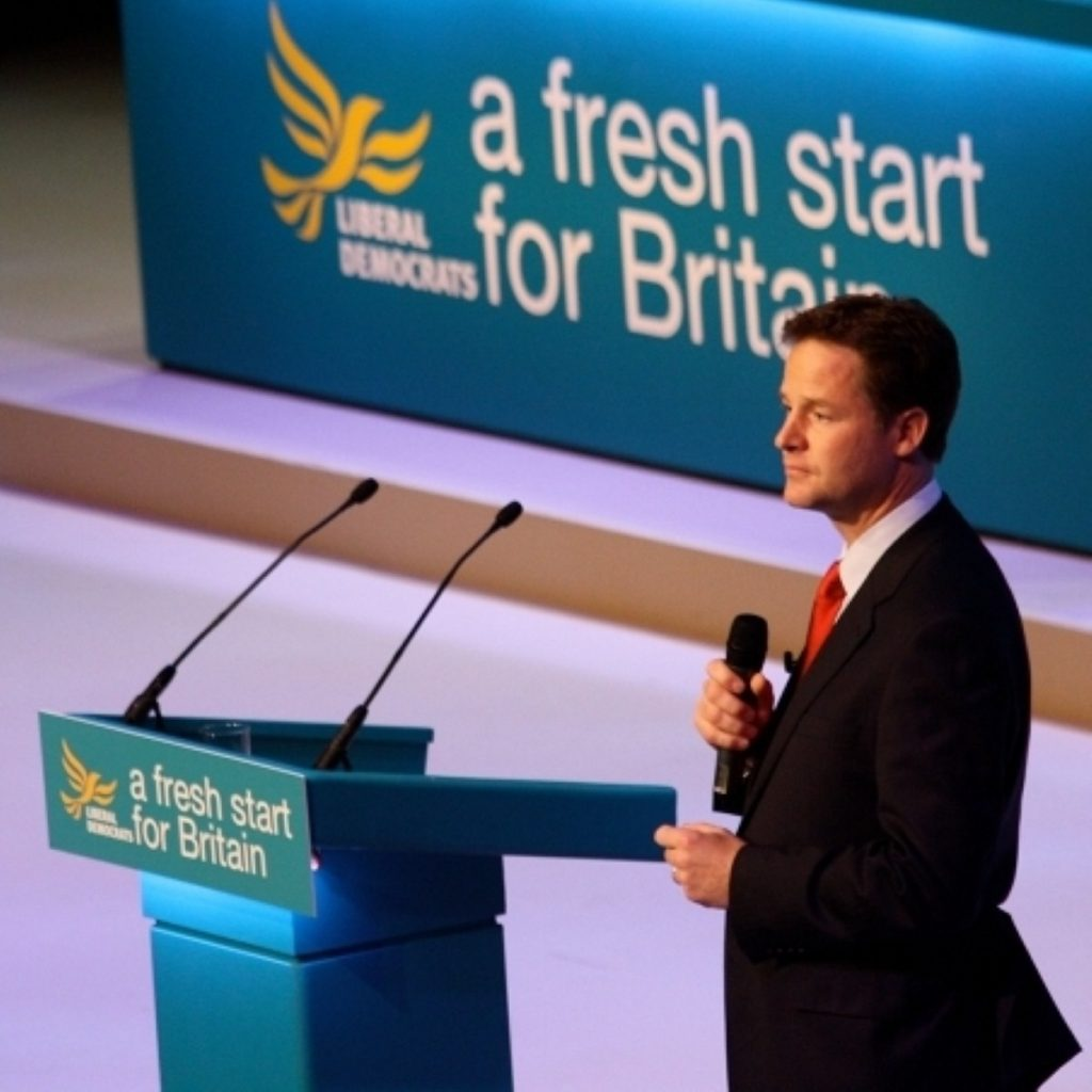 The Lib Dems want you to take them seriously