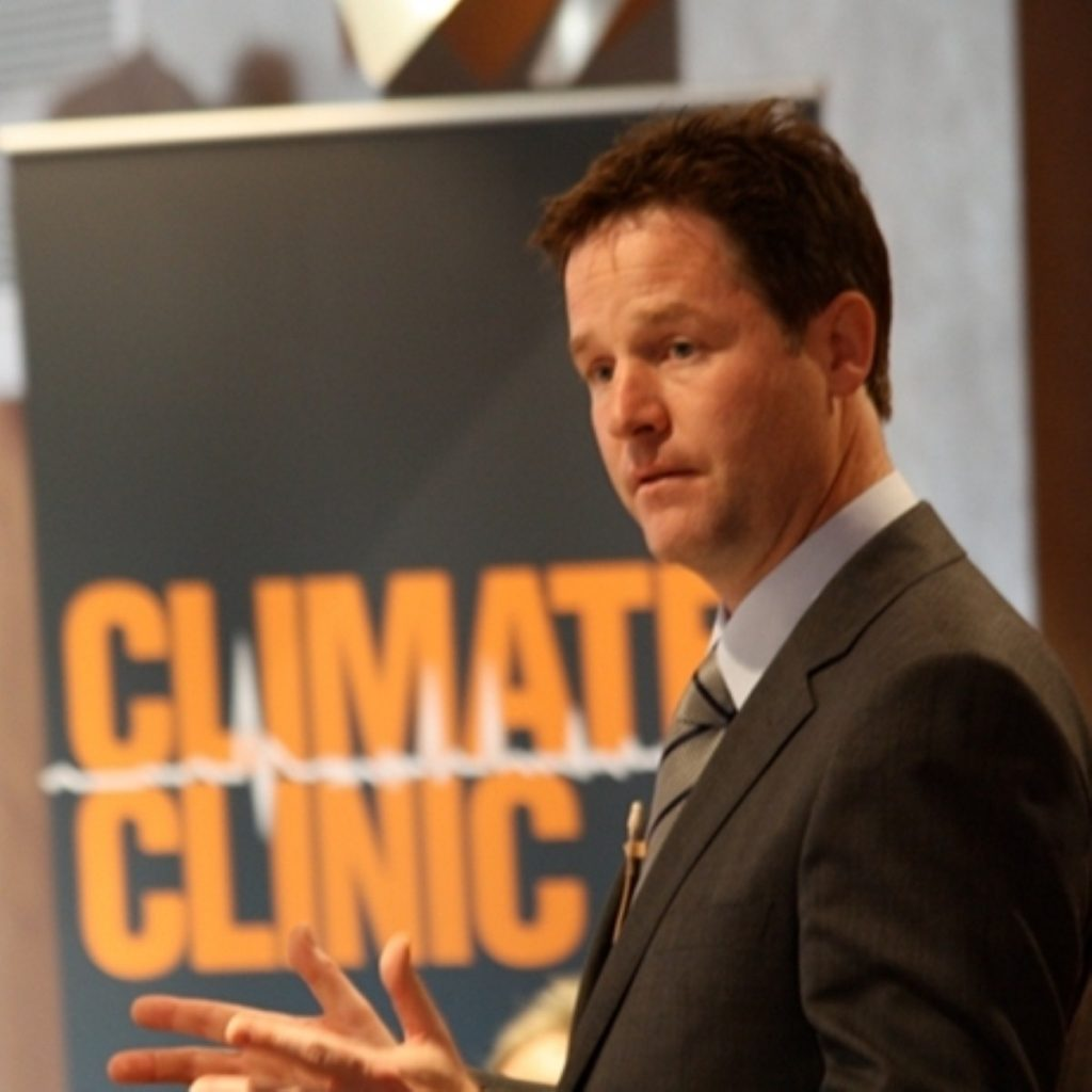 """Nick CLegg: """"It is only by working together that we have any hope of tackling the new threats."""""""