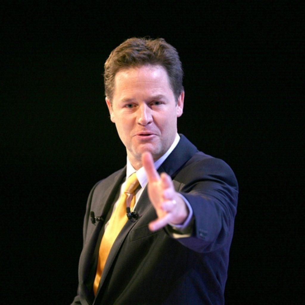 Clegg: Discredited parliament