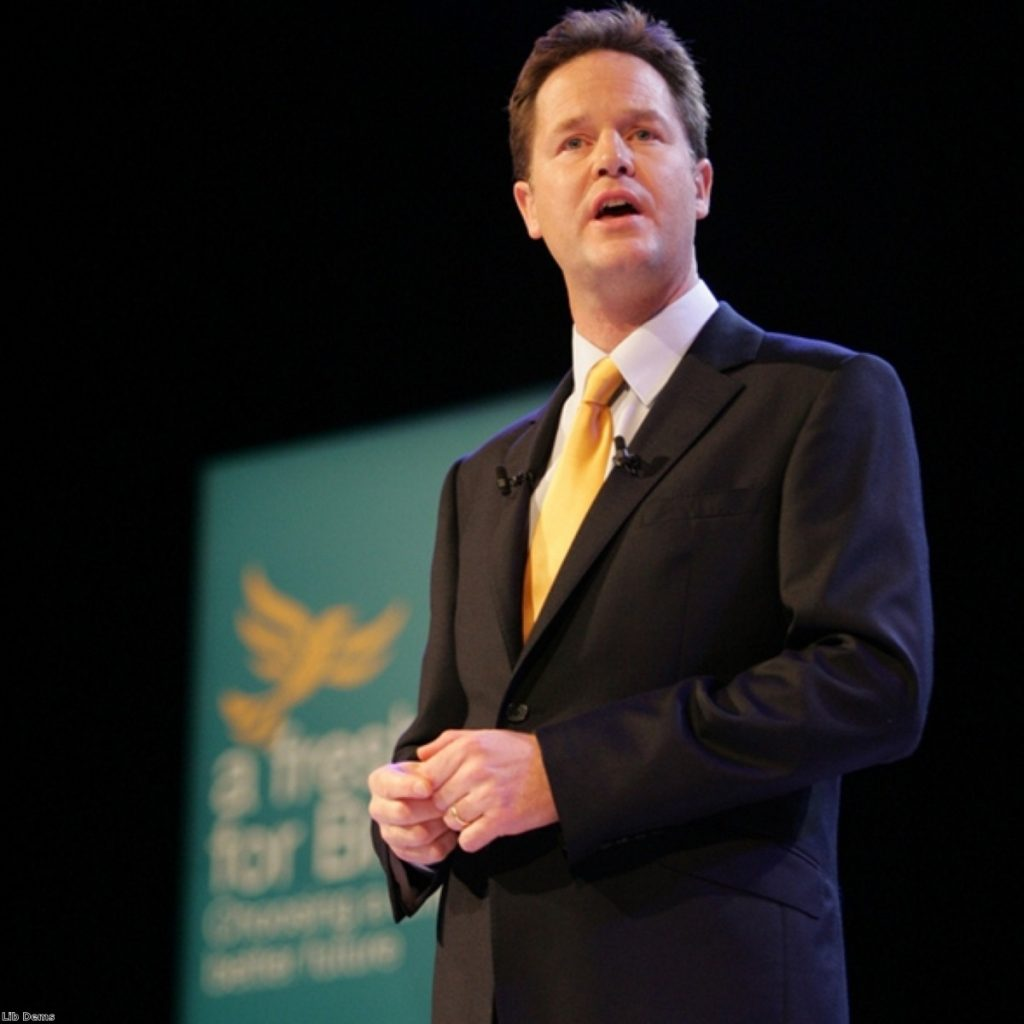Nick Clegg was forced to pay back gardening costs today
