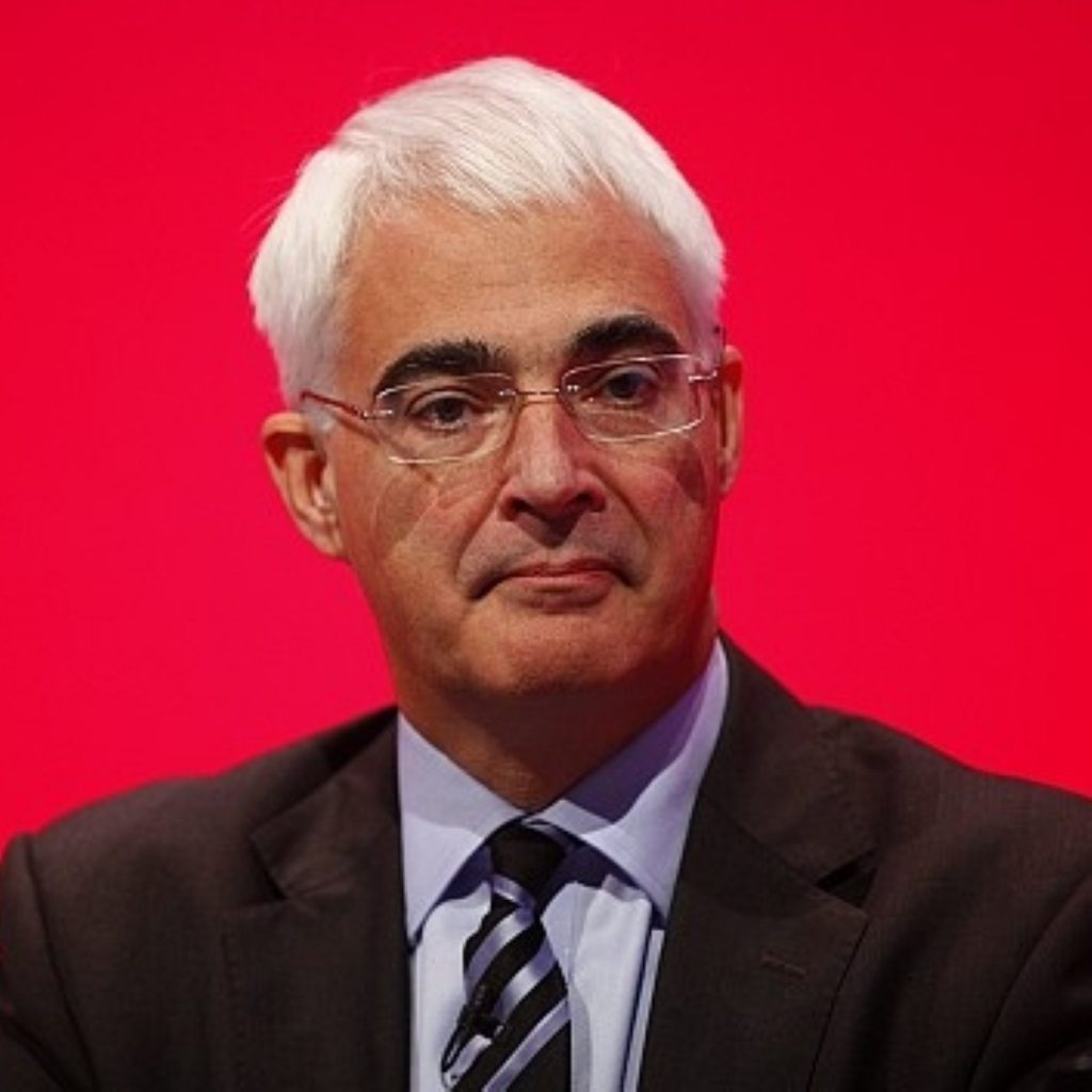 Alistair Darling and Alan Johnson will be visiting the constituency today