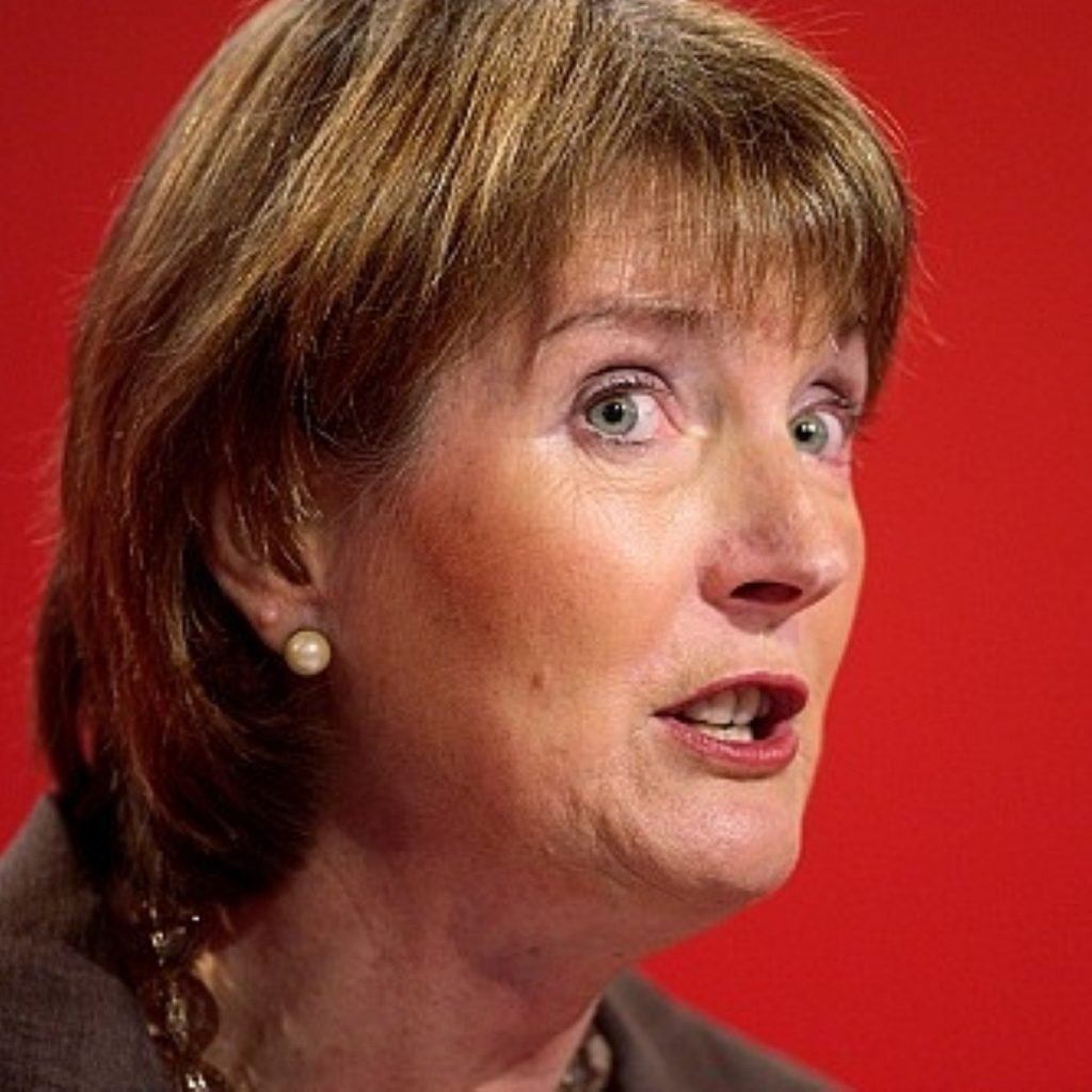 Harriet Harman wrote to south-western party officials ahead of Cabinet trip