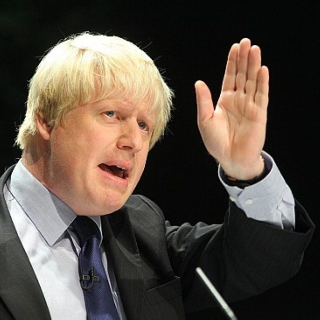 Boris: Turf war with Cameron?