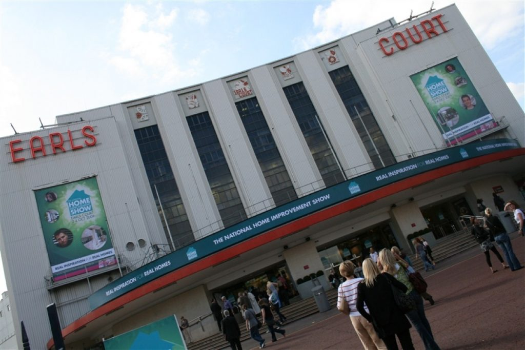 Earls Court: Home of countless concerts and conventions
