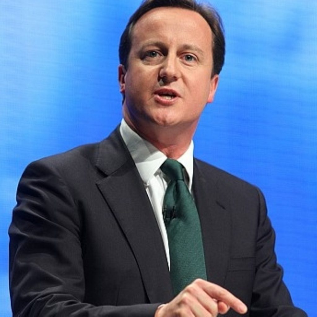 Today could be David Cameron's last conference speech as leader of the opposition.