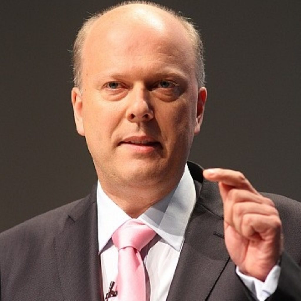 Money needs to be saved according to Grayling