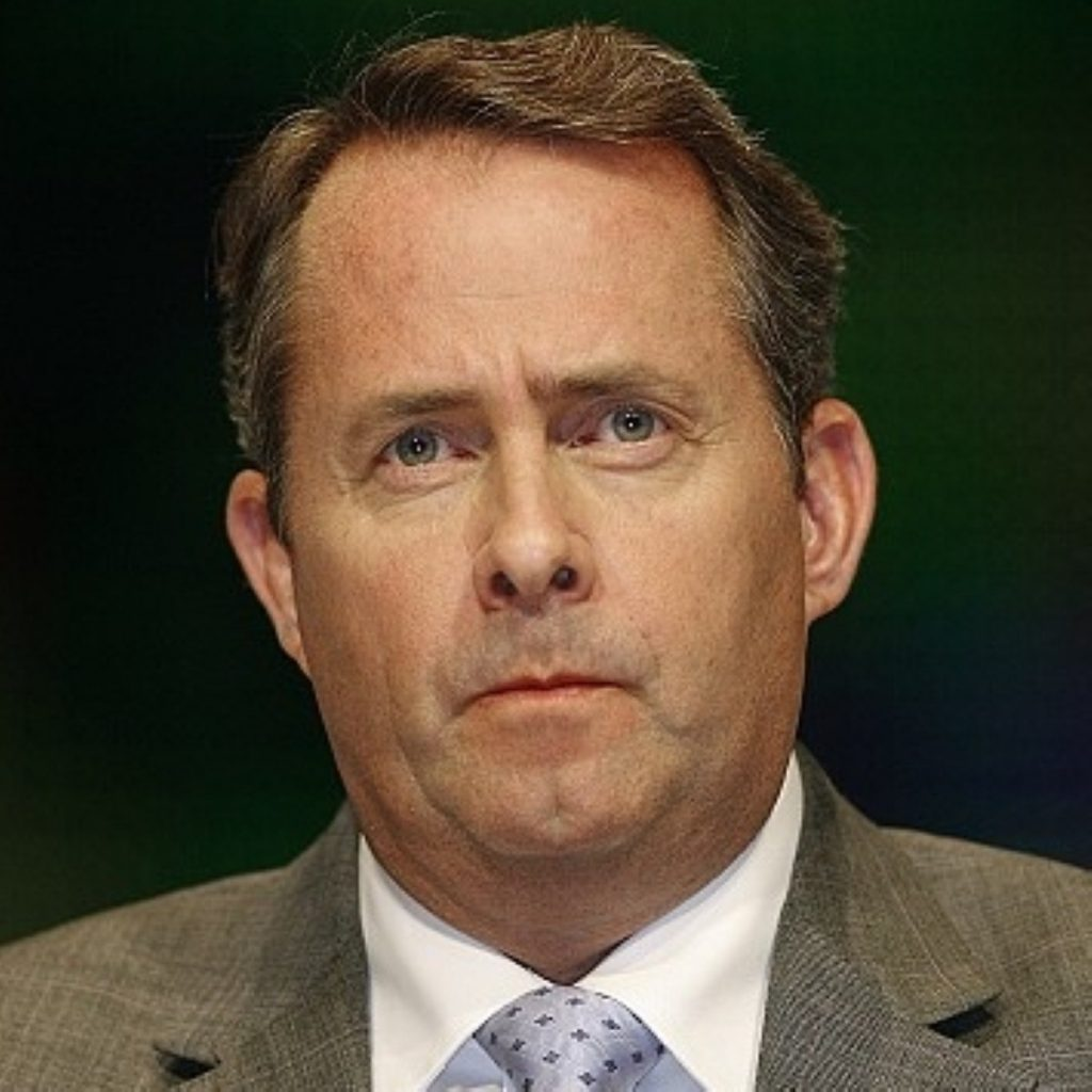 Liam Fox says MoD will fight its corner once growth returns