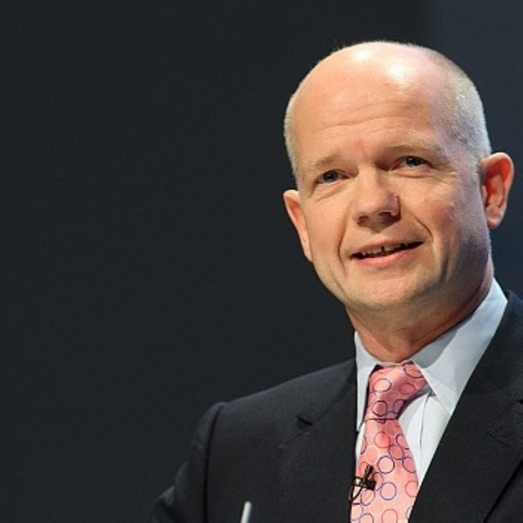 William Hague's comments last night fuelled the row further