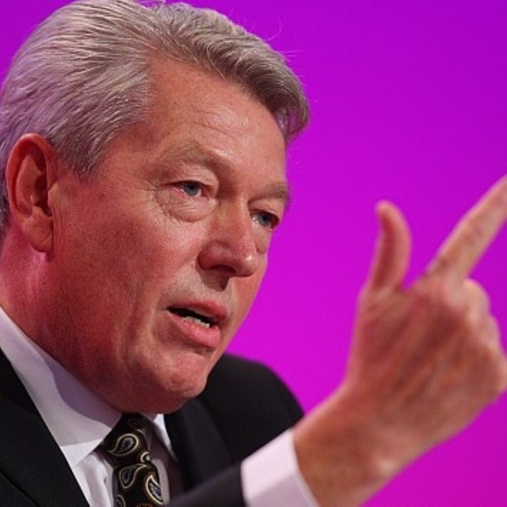 Alan Johnson has been riding a wave of controversy over the sacking