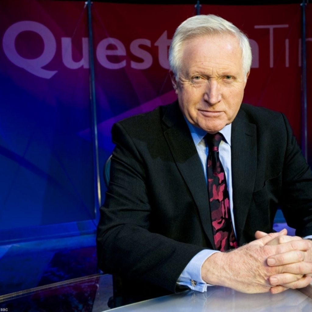 Question Time takes on all-female audience