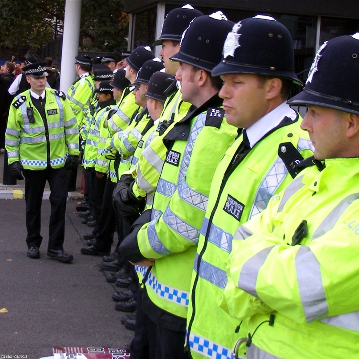 Police forces face 20% cuts over the next three years.