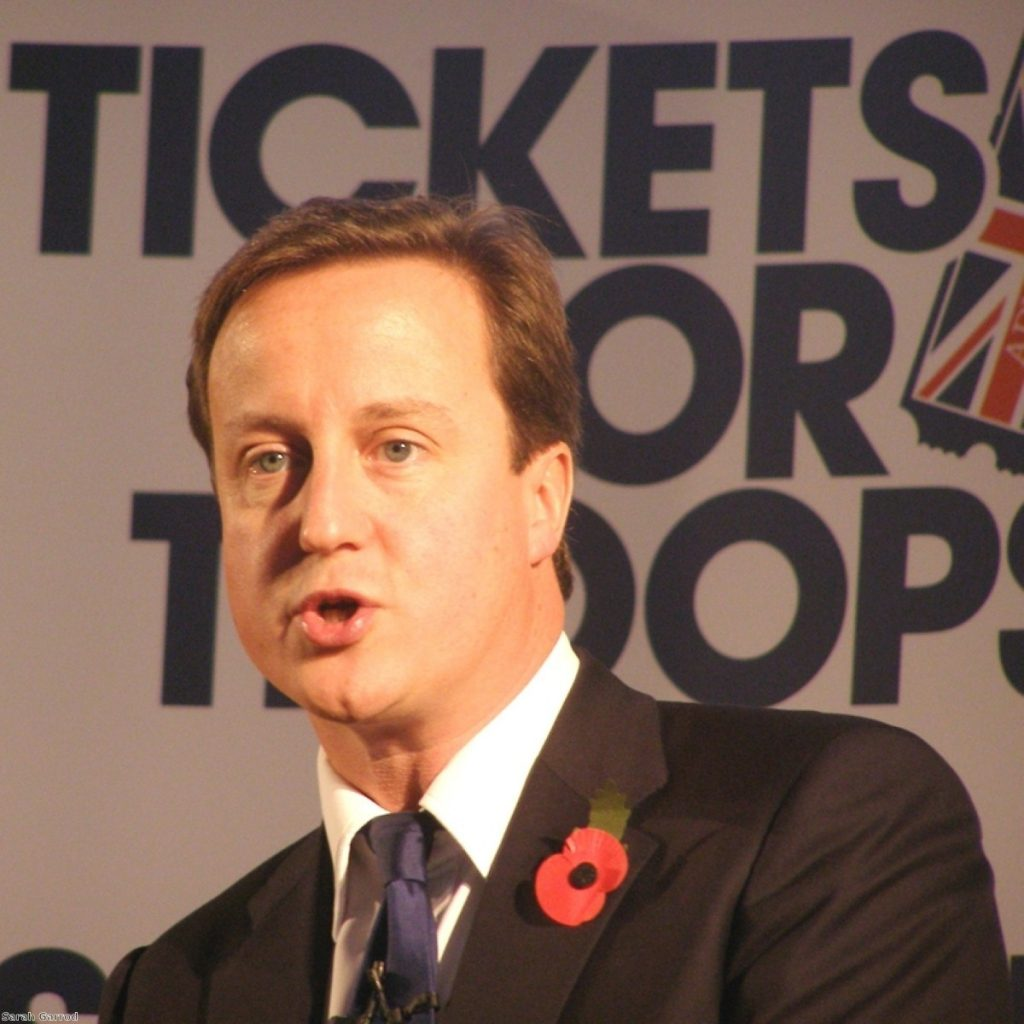 Cameron: We can beat poverty