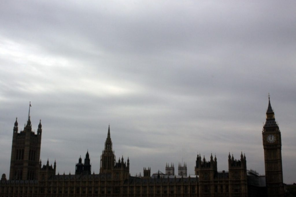 Grey day in Westminster