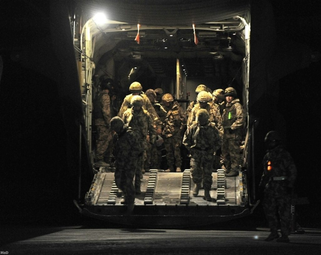 Afghanistan field hospitals 'close to capacity'