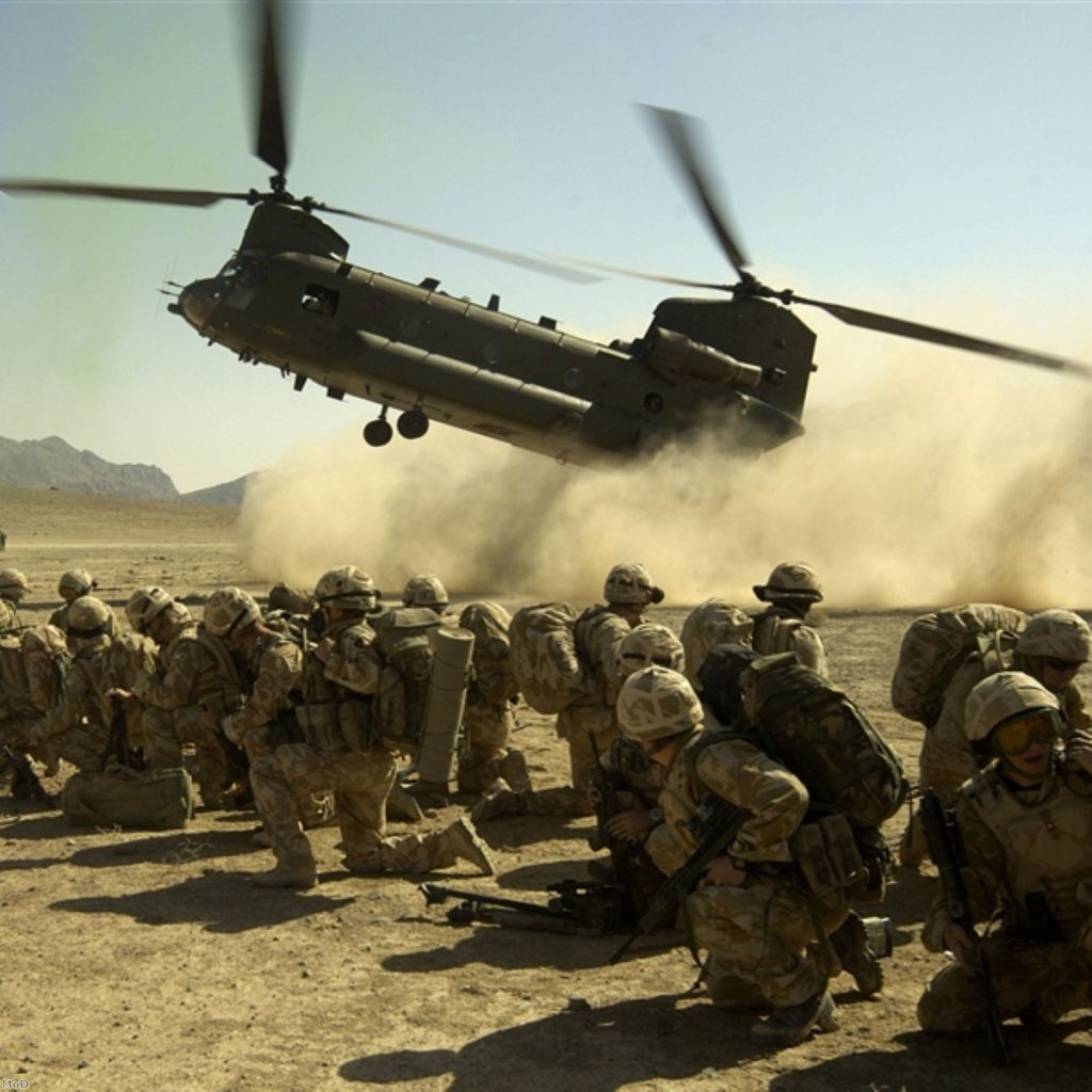Casualties expected in Afghan offensive