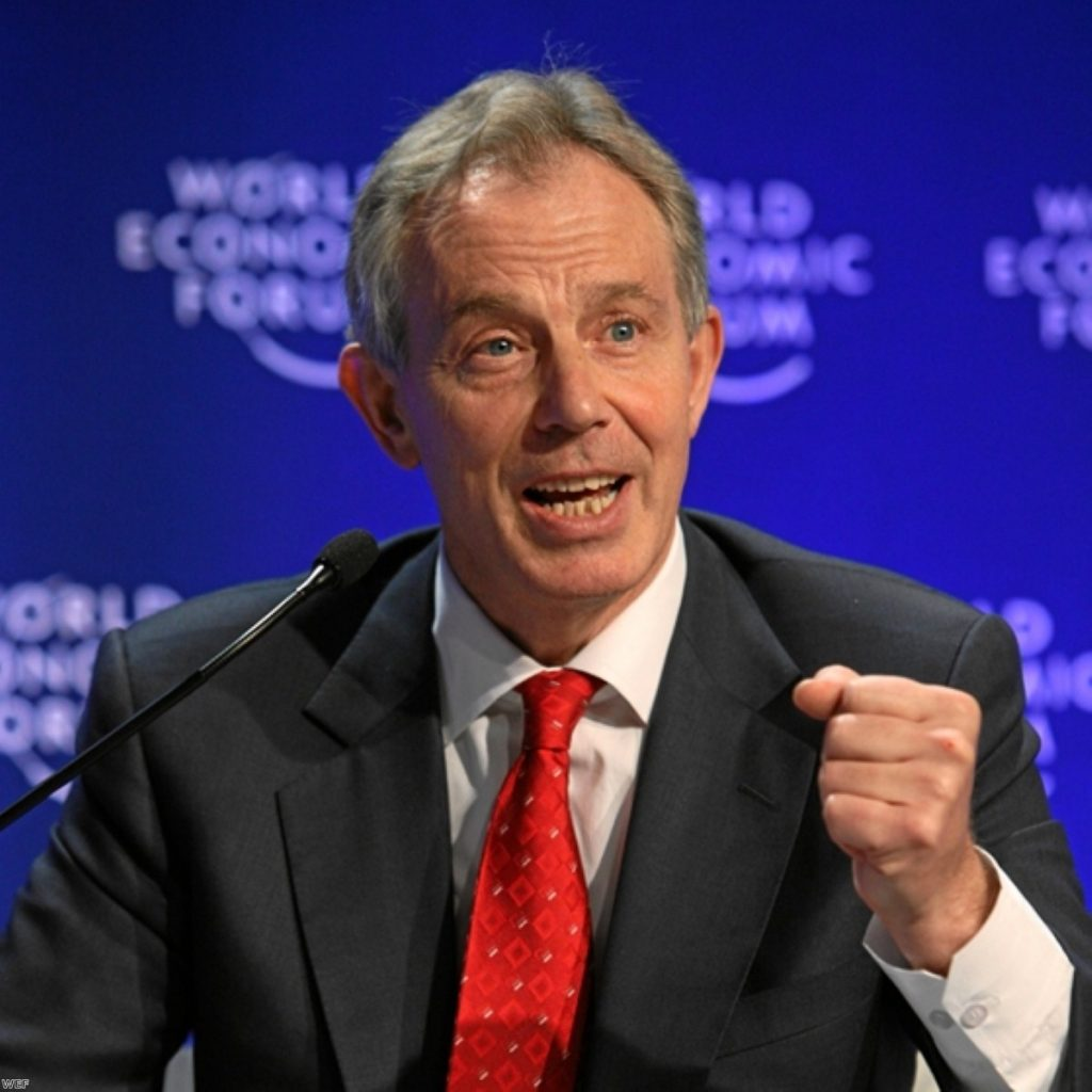 Tony Blair called on western governments to work closely with the new Egyptian government