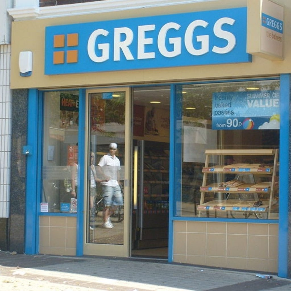 Greggs: The new 'price of a pint of milk'?