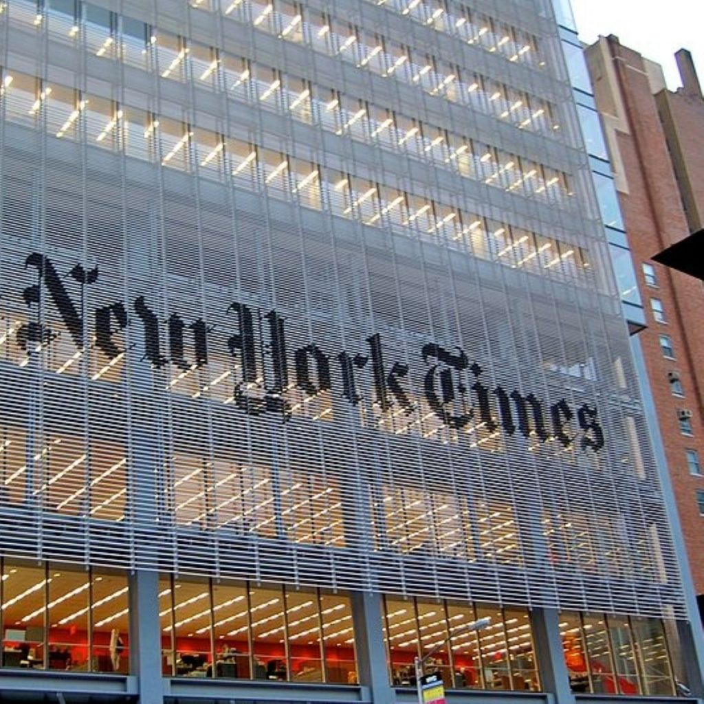 The New York Times covered the riots in the UK extensively