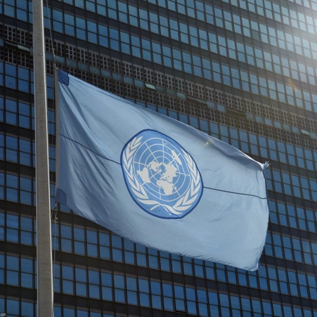 The UN will be at the centre of efforts to secure a Palestinian state today.
