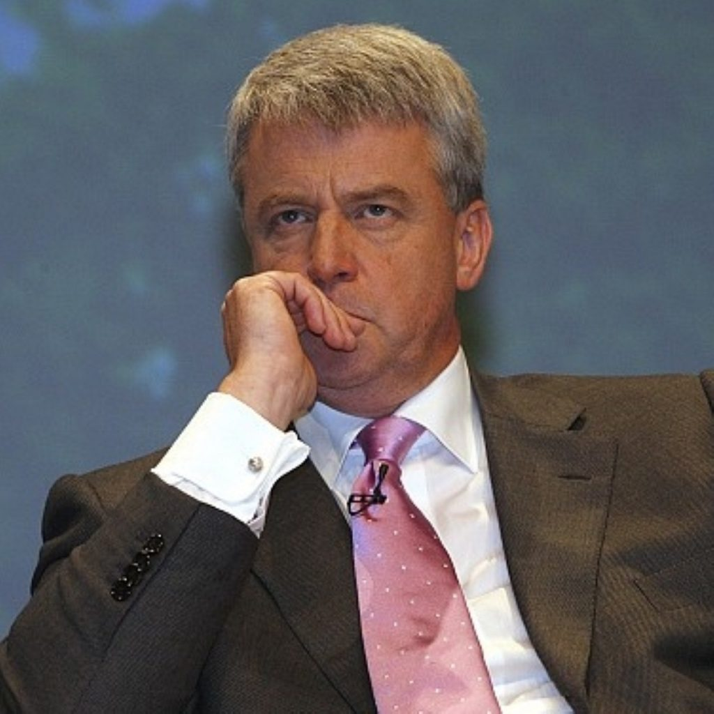 Andrew Lansley warns against 'death tax' - a little too late
