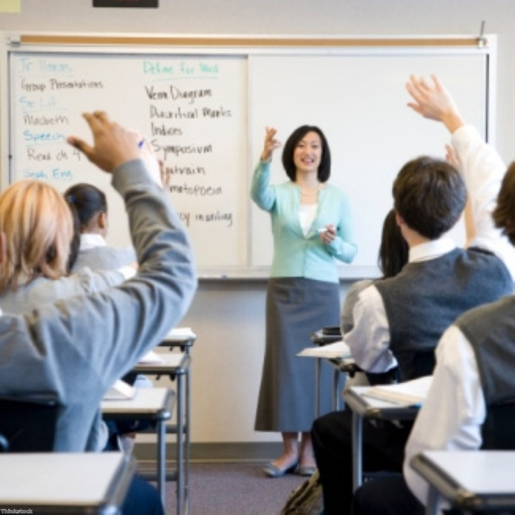 Tories attack Labour's record on class sizes