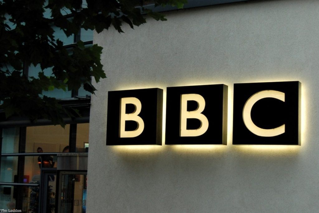 BBC's online presence is hurting local news, Theresa May says
