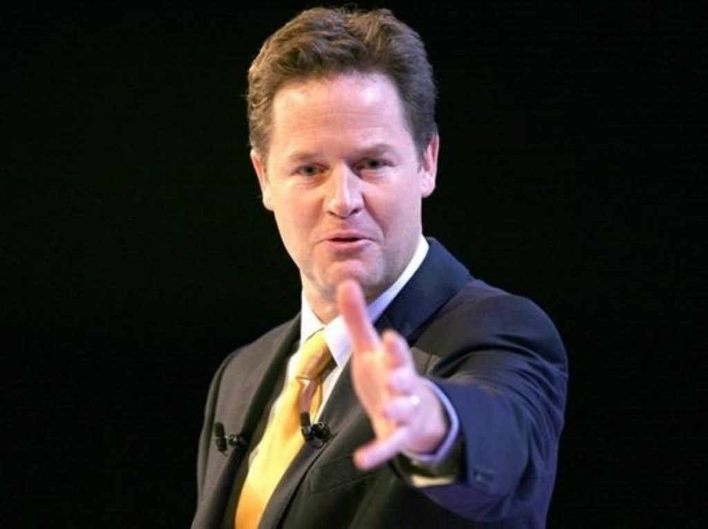 Peacemaker Clegg reaches out to the unions