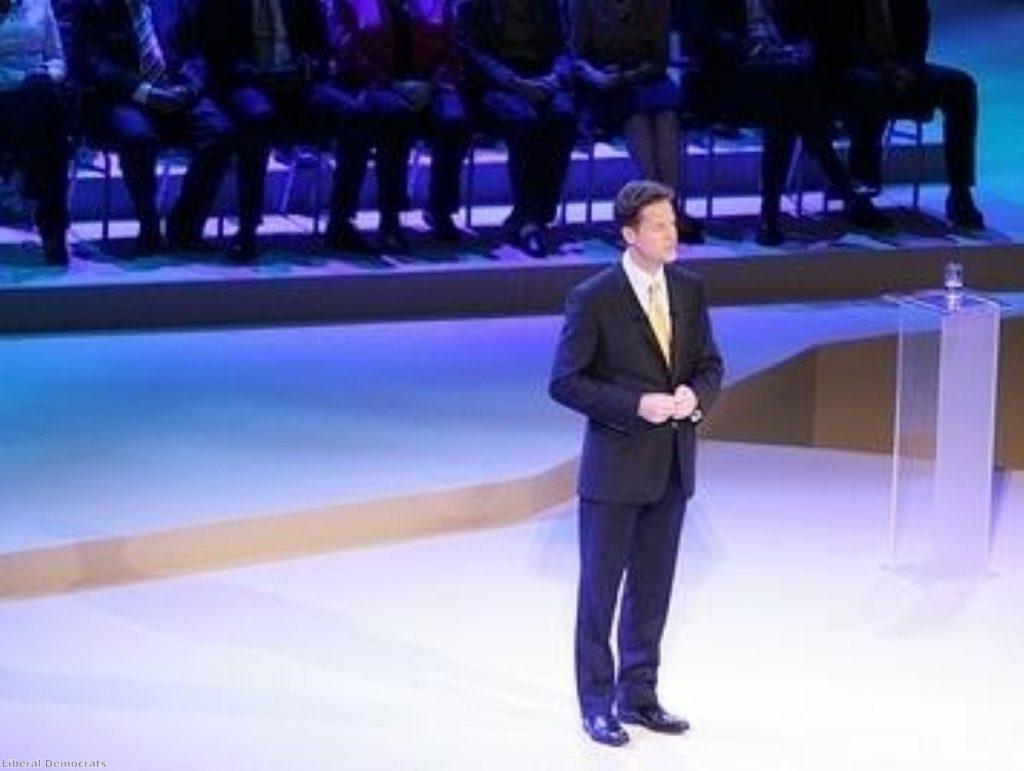Clegg: David Cameron hasn't kidnapped me.