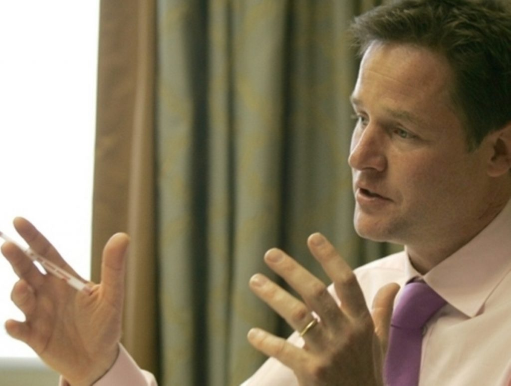 Nick Clegg will take on Scottish voters later