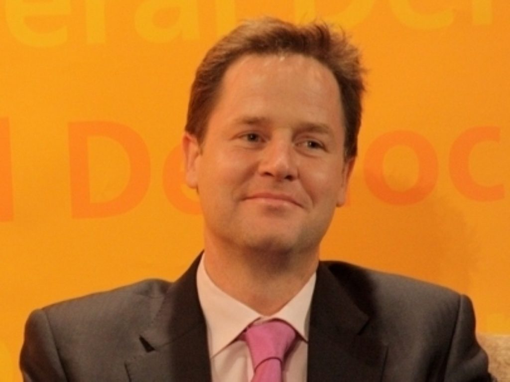Clegg will be launching the party's Welsh campaign today
