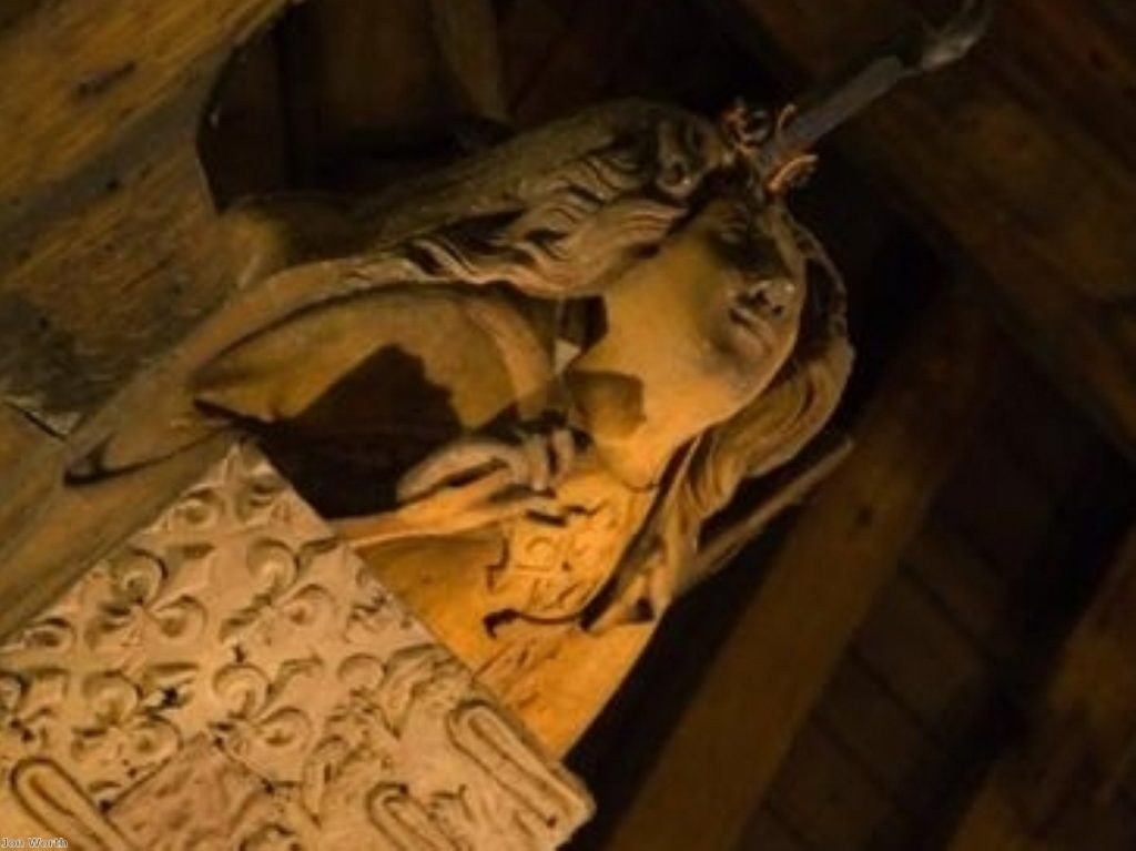 Shocking sights within the Palace of Westminster