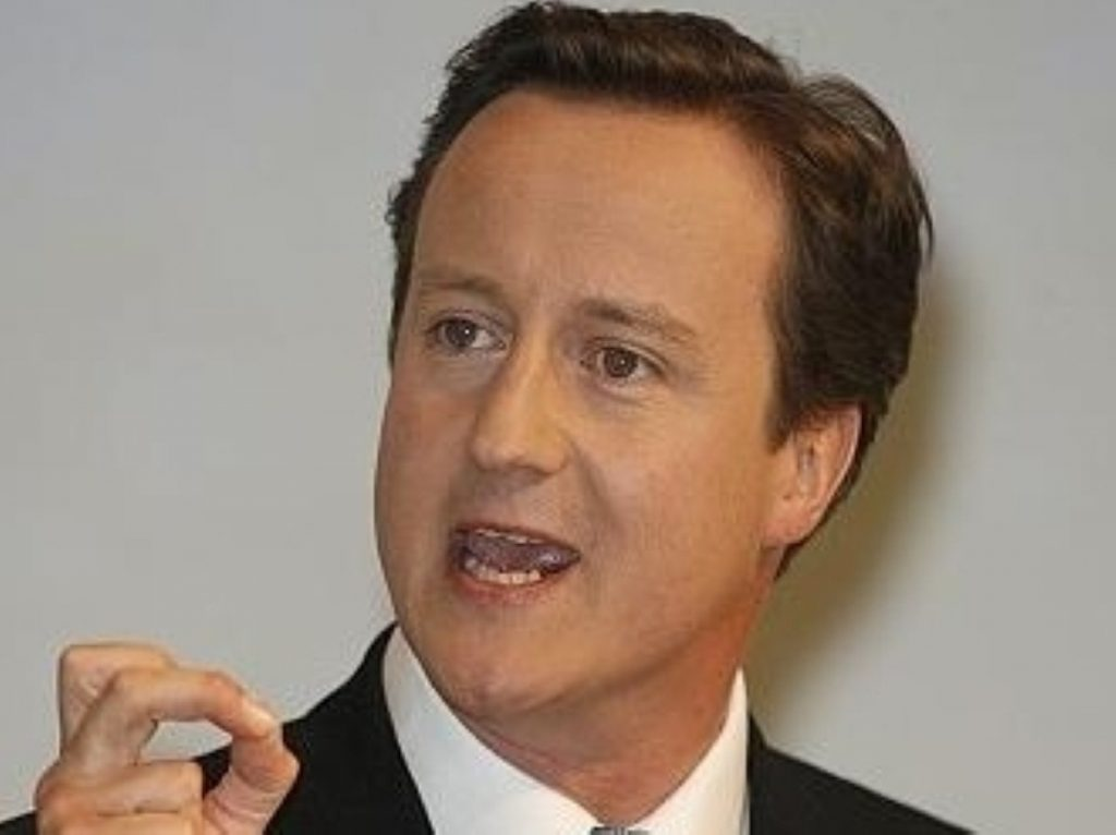 David Cameron could rely on unionist support