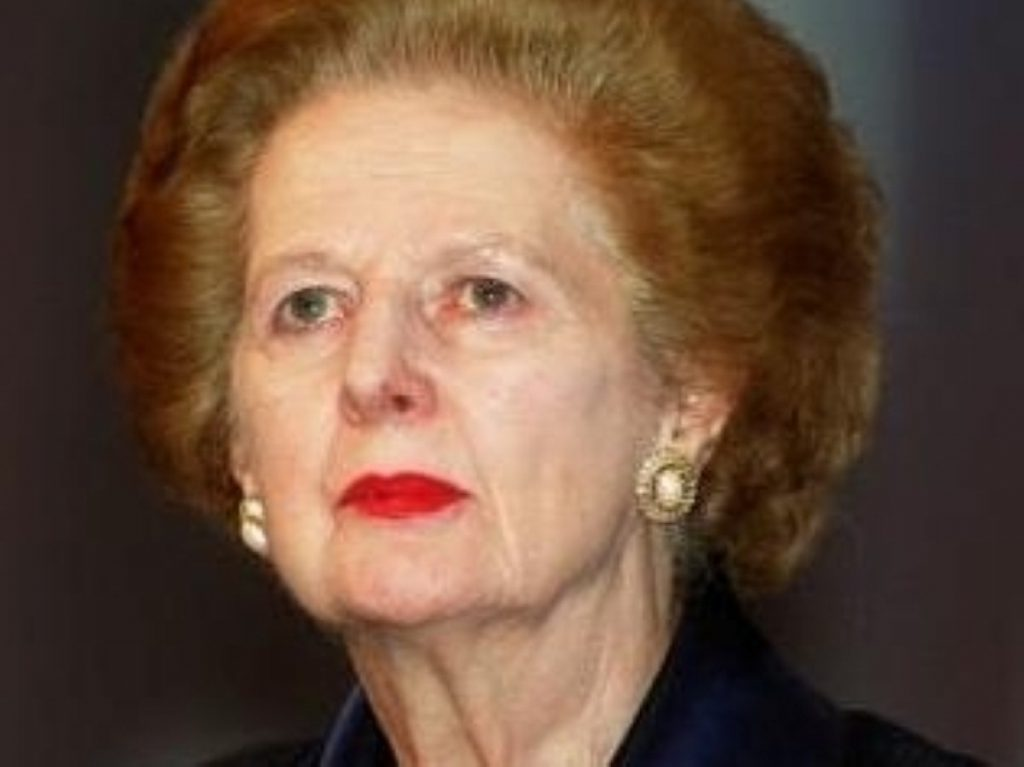 Lady Thatcher has reportedly recovered well from a bout of flu