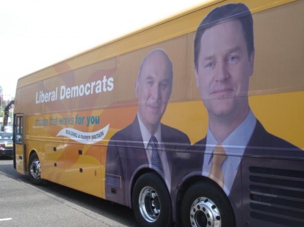 Campaigning Lib Dems can only do well in 2015 by turning to the left, Oakeshott argued