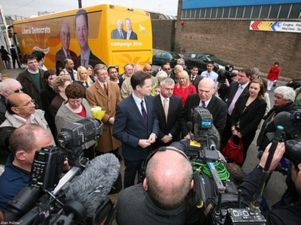 Vince Cable has denied any involvement in plot to oust Nick Clegg.