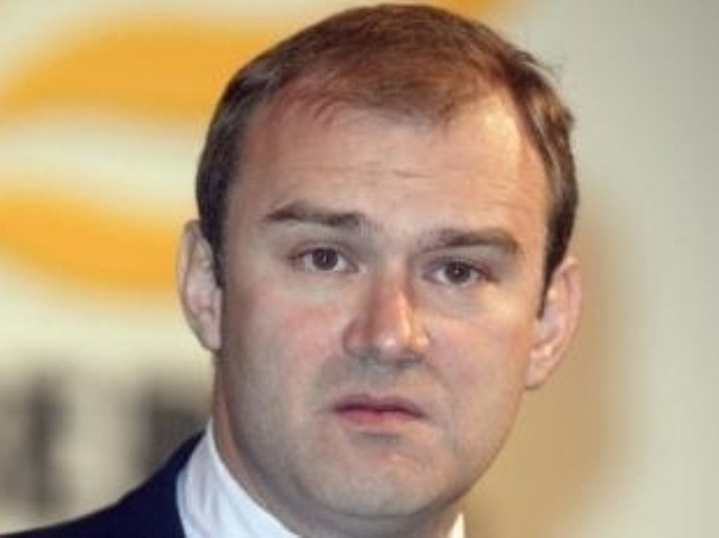 Ed Davey, who is campaigning to save Kingston hospital