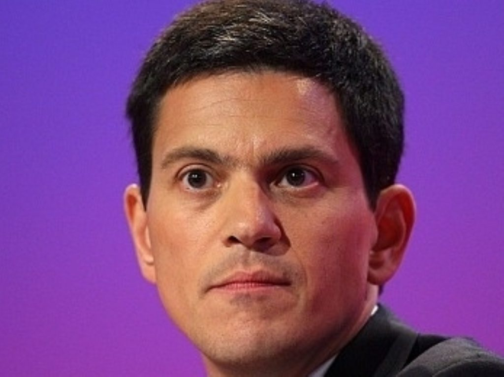 David Miliband is widely considered the front runner in the leadership race