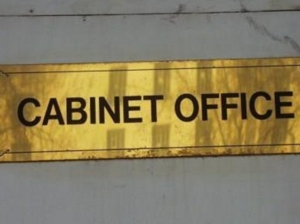The plans are being co-ordinated by the Cabinet Office