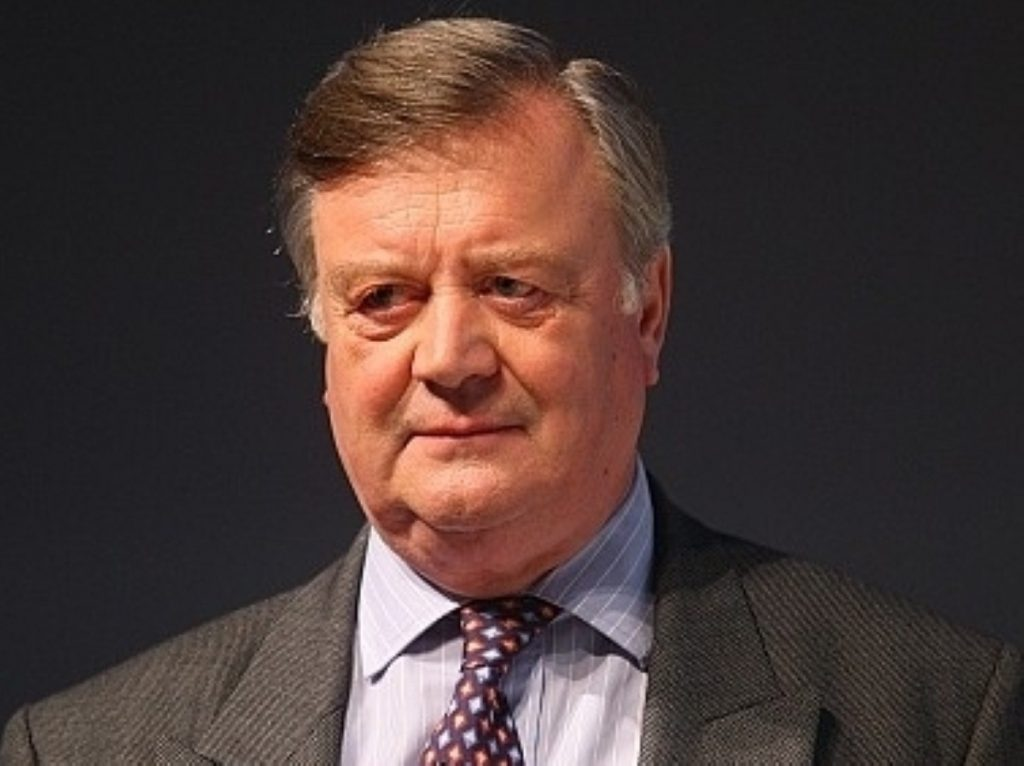 Ken Clarke reveals Tory red line for hung parliament negotiations