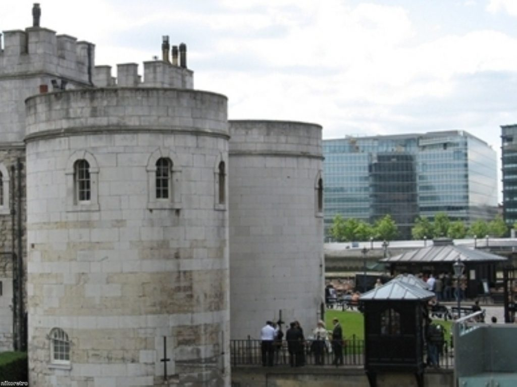 Development near the Tower of London has been criticised