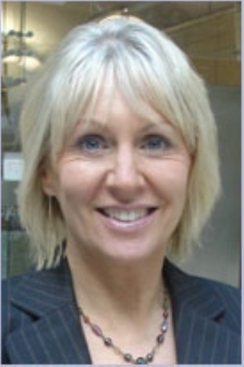 Nadine Dorries is becoming a focal point for the religious right