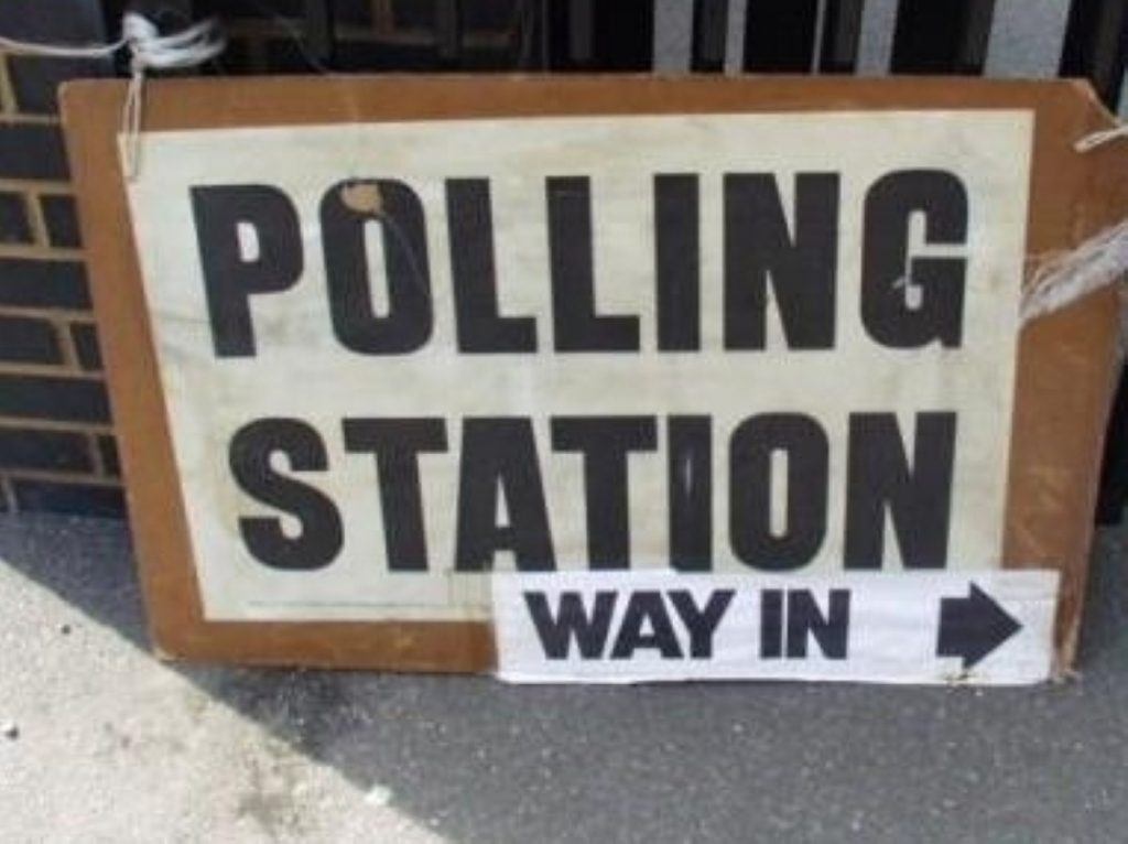 Polling stations have been turning voters away for being too late