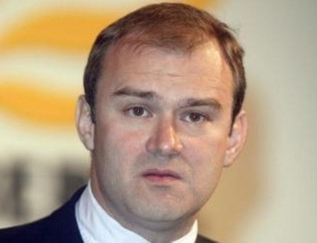Energy and climate change secretary Ed Davey